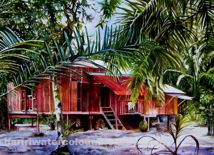 Title: Rumah Kampung Parit Mahang | Size: 21' x 29' | Price: RM 4000.00